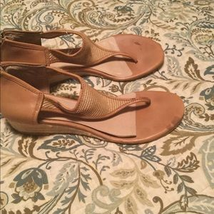 Michael Kors Shoes - Michael Kors Leather Sandals